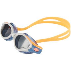 speedo Futura Biofuse Flexiseal Triathlon Female Gogle Kobiety, fluo orange/stellar/smoke